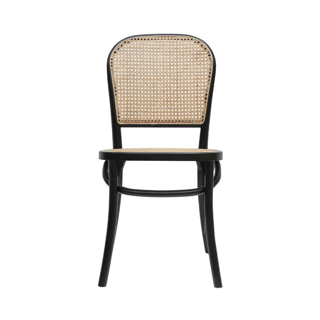BENTWOOD RATTAN DINING CHAIR -