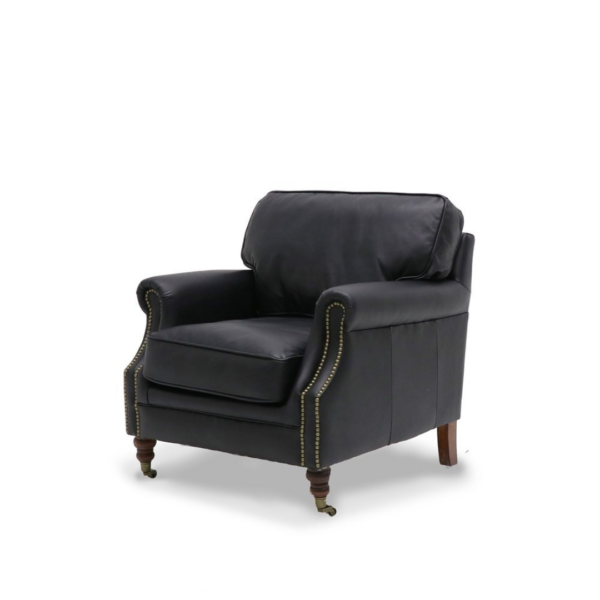 Brunswick Leather Chair