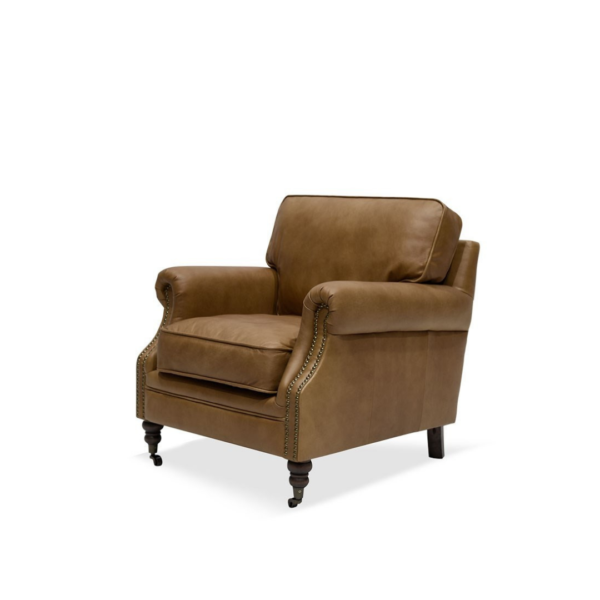 BRUNSWICK ARMCHAIR - CHESTNUT