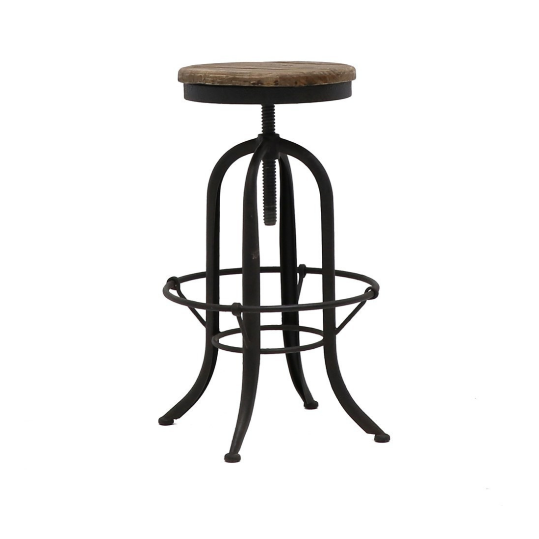 CLEMENT RUSTIC STOOL