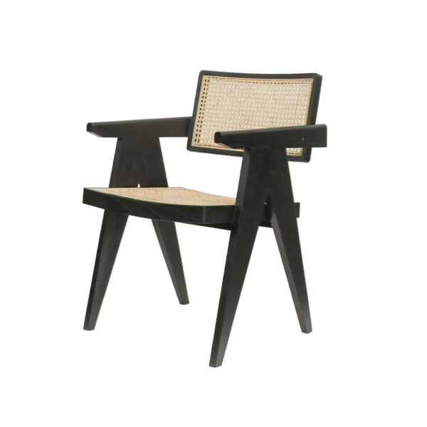 CRUSOE RETREAT ARMCHAIR - BLACK:NA