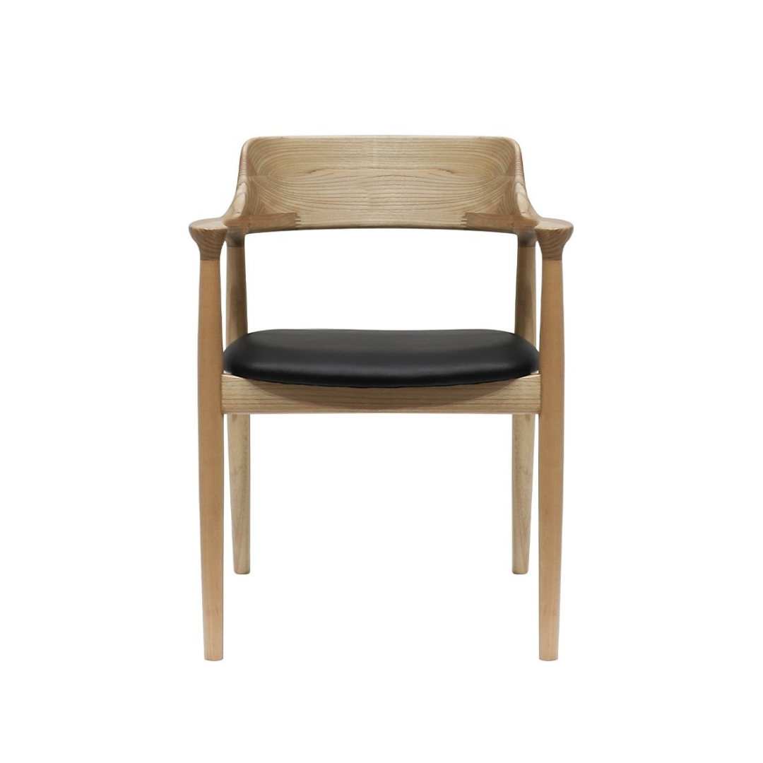 FLYNN LEATHER DINING CHAIR