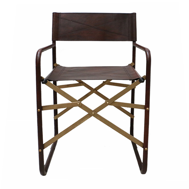 Folding Leather Chair