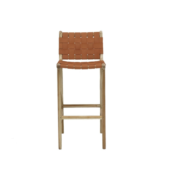 Leather Barstool