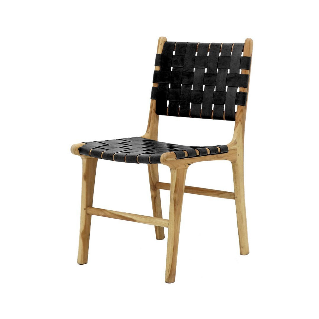 HAYES DINING CHAIR BLACK