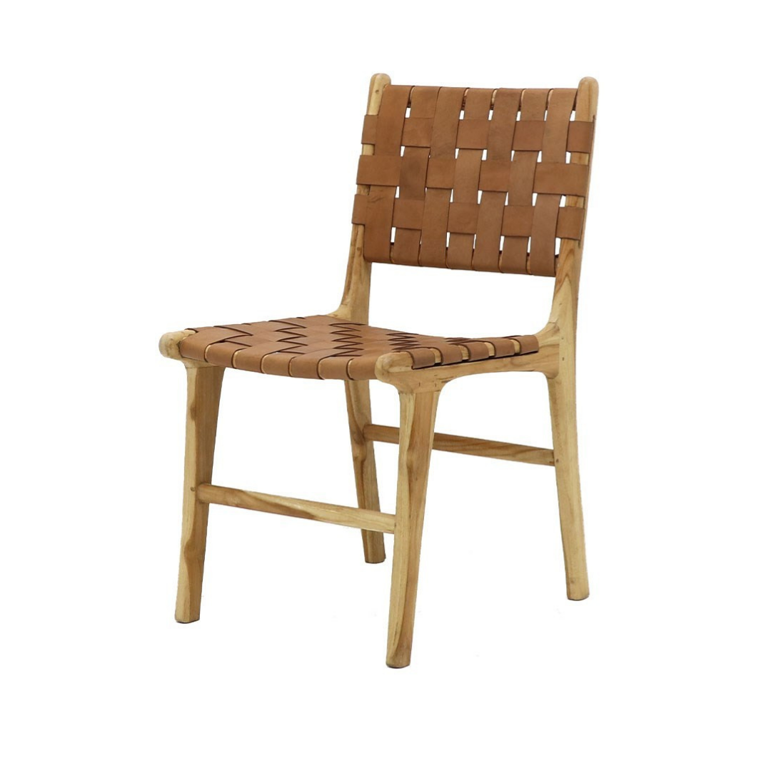 HAYES DINING CHAIR TAN