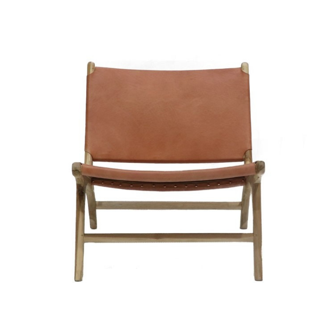 HYDE LOW CHAIR - TAN