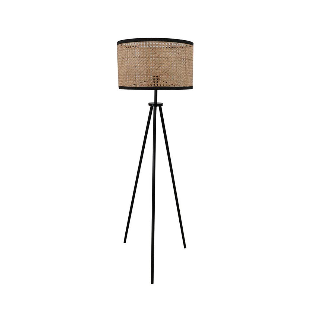 Hemp Tripod Floor Lamp