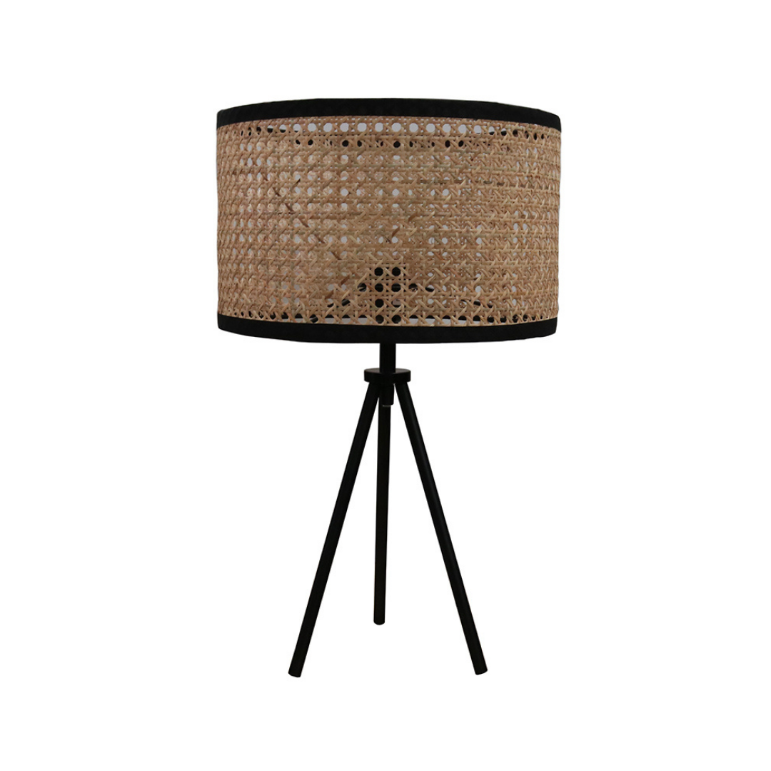 Hemp Tripod Table Lamp