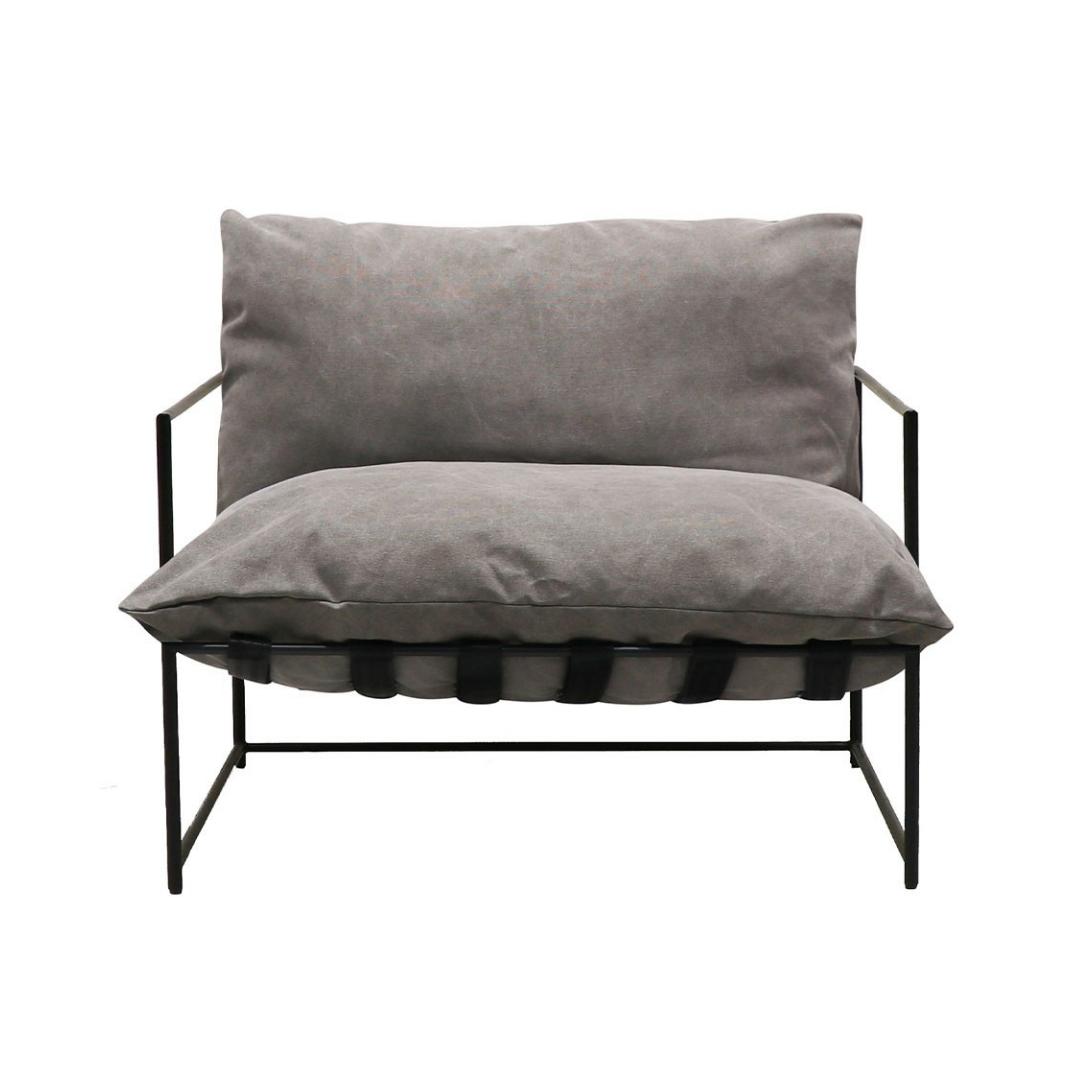 LG Lauro Club chair charcoal
