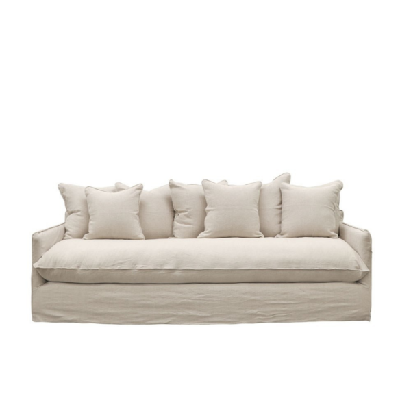 LOTUS SLIPCOVER SOFA - OATMEAL