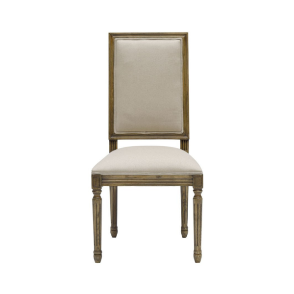 LOUIS DINING CHAIR - SQUARE B