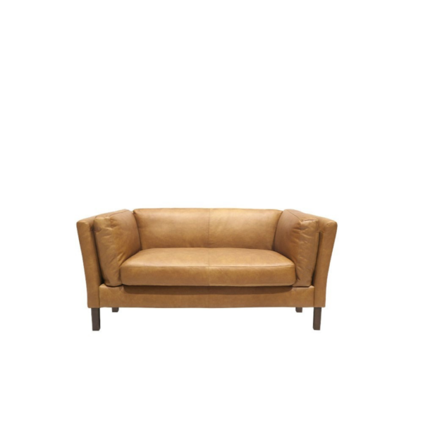 MODENA LEATHER SOFA - 2 SEATER