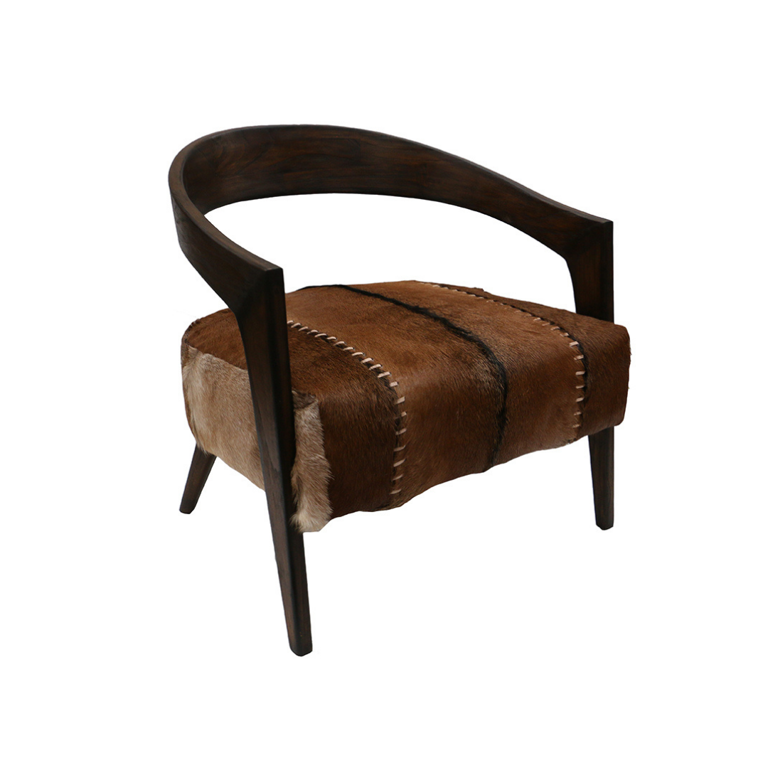 Calf Skin Chair