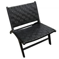 London Lazy Leather Chair