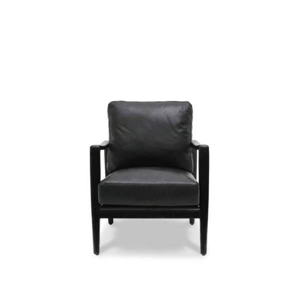 REID ARMCHAIR - BLACK