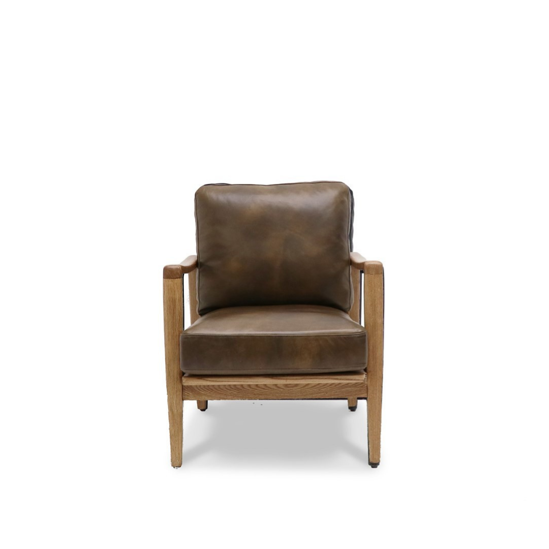 REID ARMCHAIR - BROWN