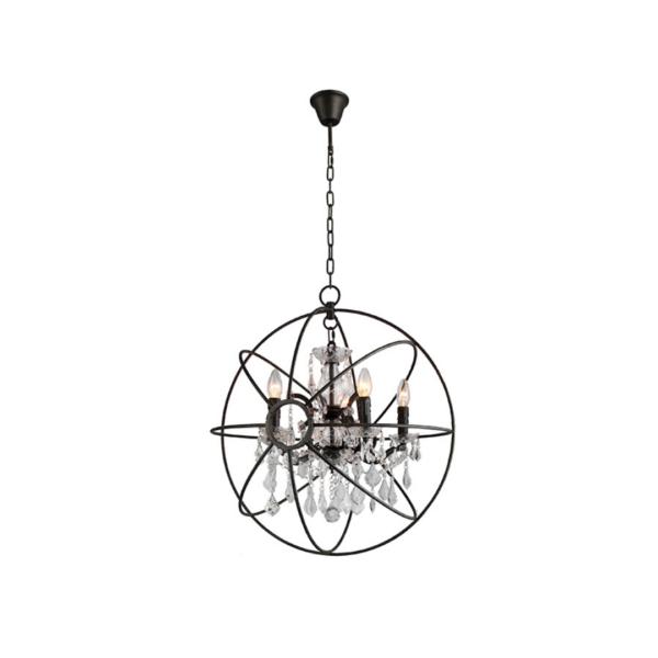 ROCOCO Globe 60cm Chandelier