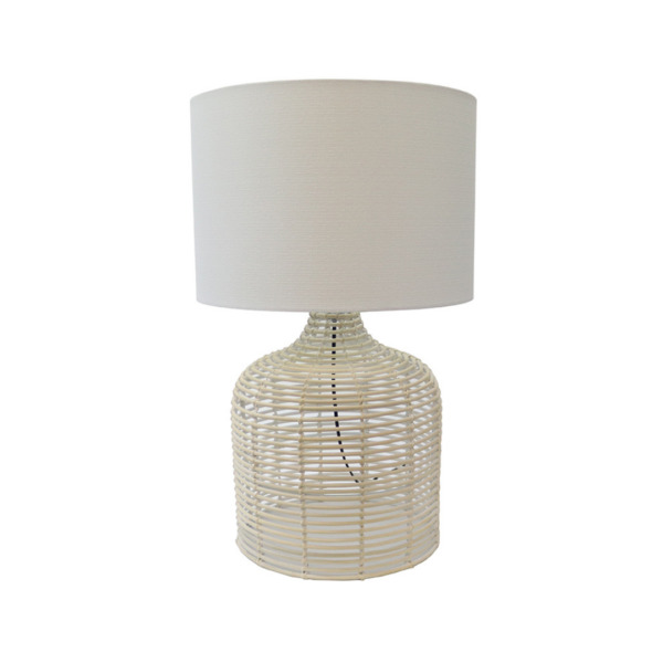 Rattan Weave Table Lamp