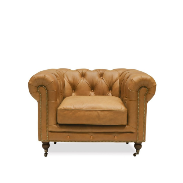 STANHOPE CHESTERFIELD ARMCHAIR
