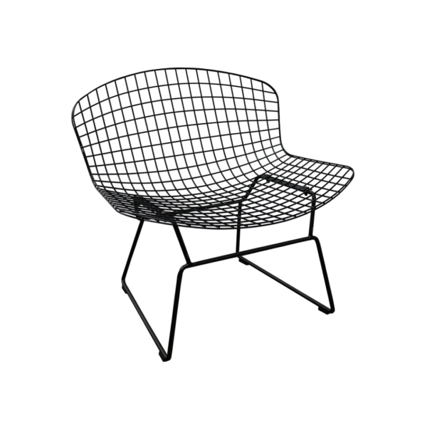 Wire Curve Occasional Chair