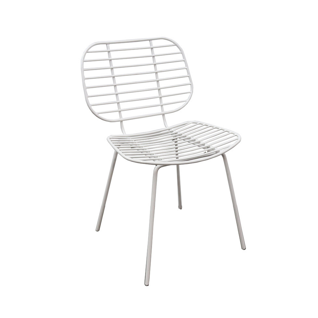 Wire Slat Dining Chair