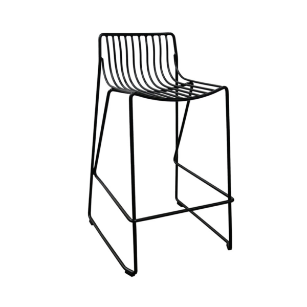 Wire Sling Counter Stool
