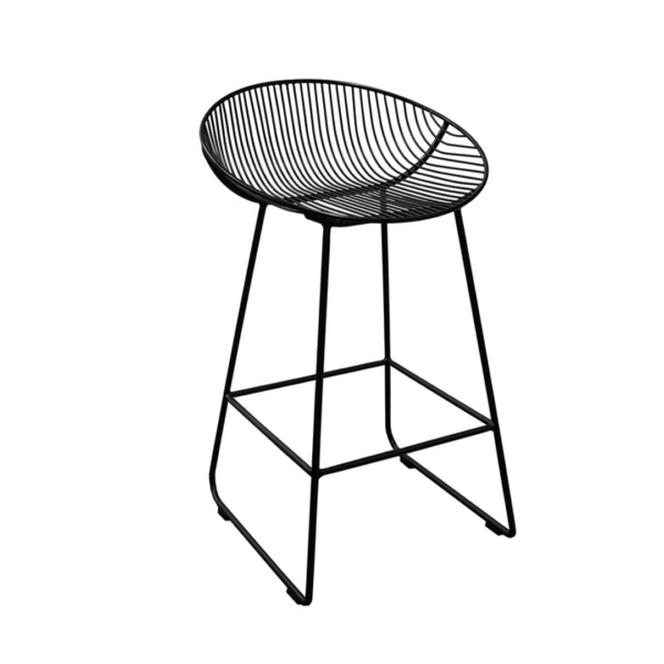 Wire Tub Counter Stool
