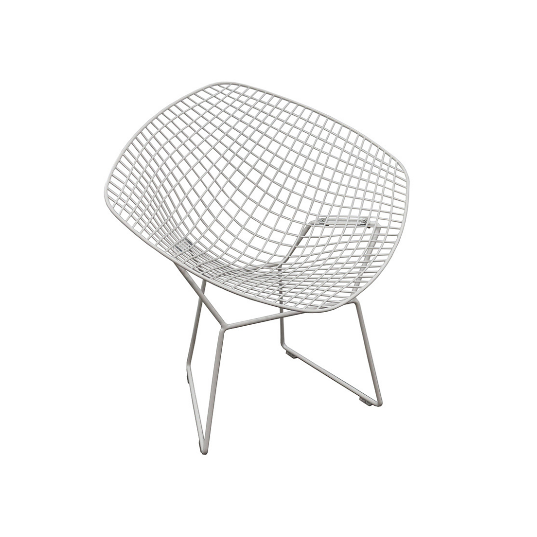 Wire Tub Occassional Chair