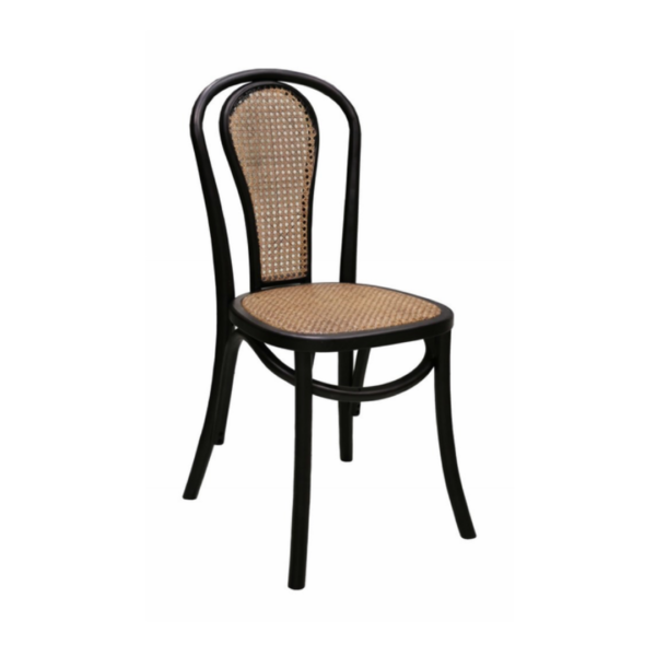 BENTWOOD BLACK DINING CHAIR