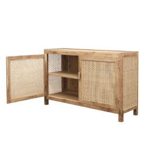 CRUSOE RETREAT 2 DOOR SIDEBOARD