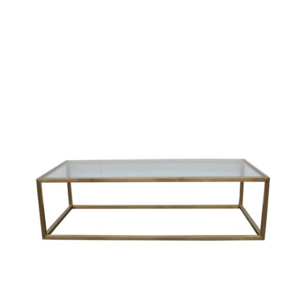 Bogart Coffee Table 140x70cmBogart-Coffee-Table-140x70cm-Bronze-Clear