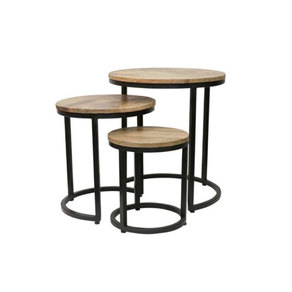 CHANDRI NESTING SIDE TABLE SET