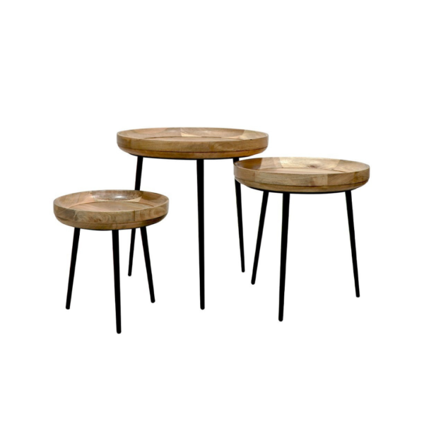 CHANDRI SIDE TABLE TRIO