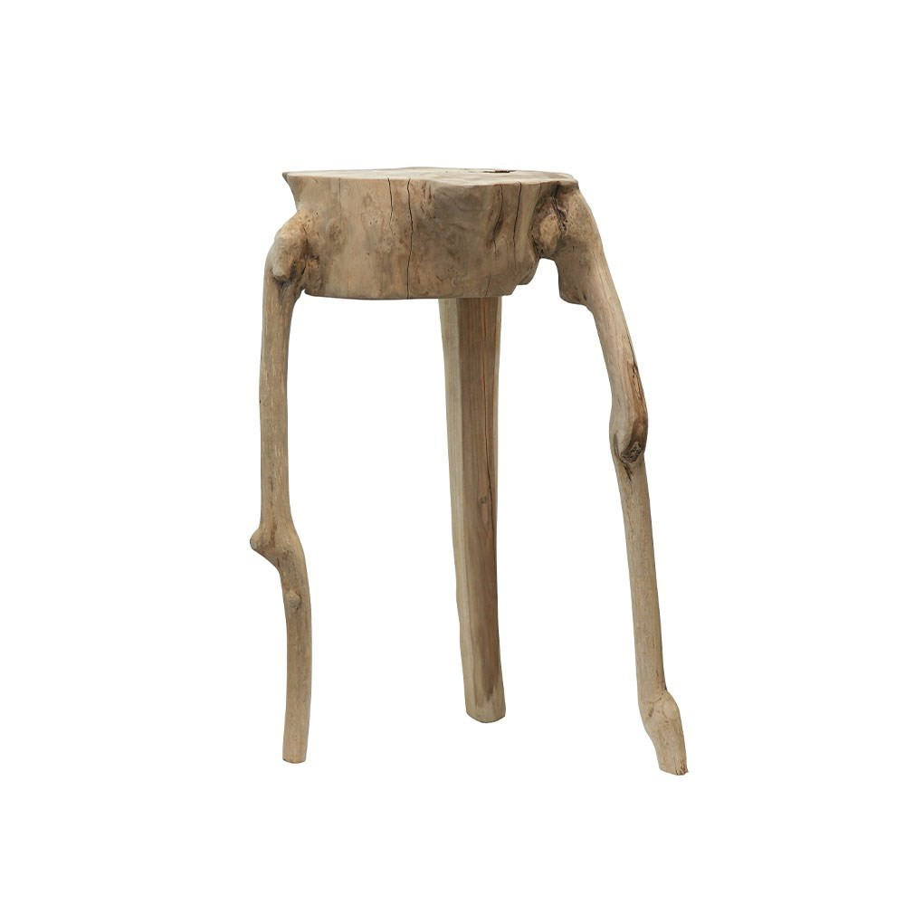 CRUSOE SALVAGED SIDE TABLE - NATURAL
