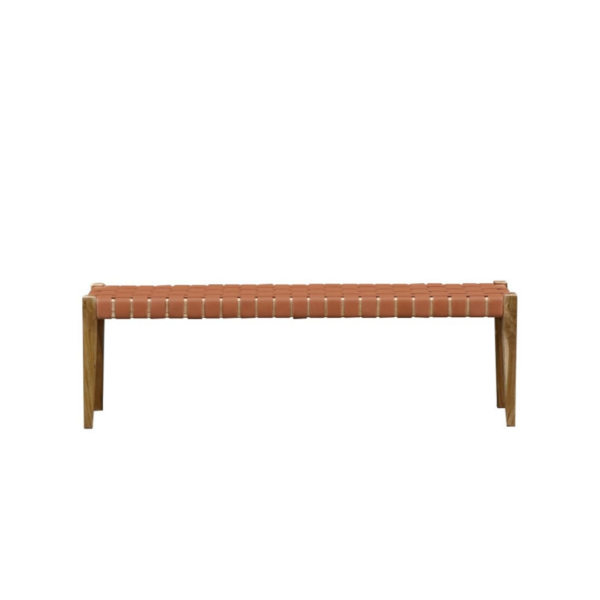 Leather Bench Seat