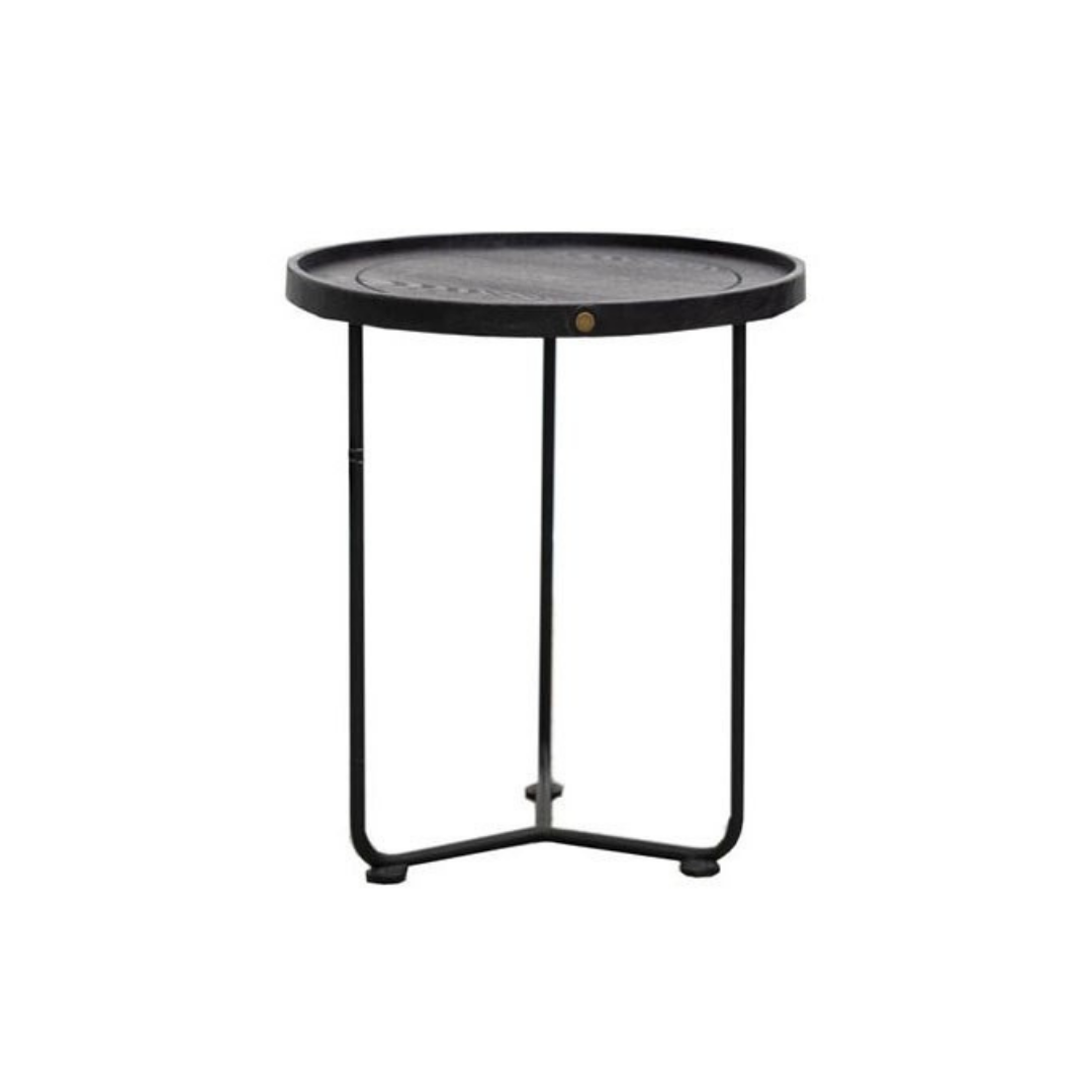 HAYWOOD SIDE TABLE - BLACK