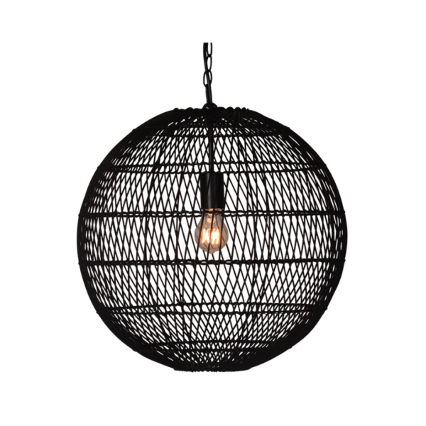 Iron Net Ball Pendant