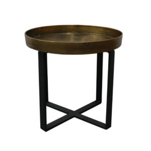 Manhattan-Side-Table-Brass-Antique