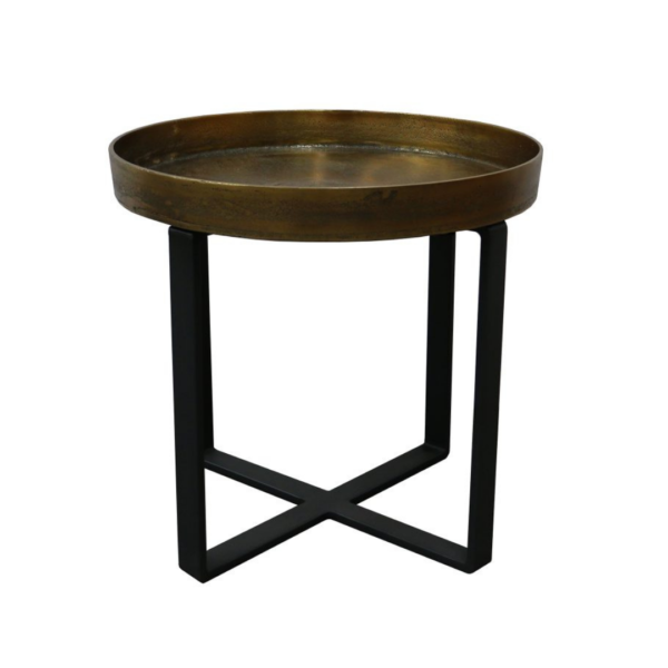 Manhattan-Side-Table-Brass-Antique