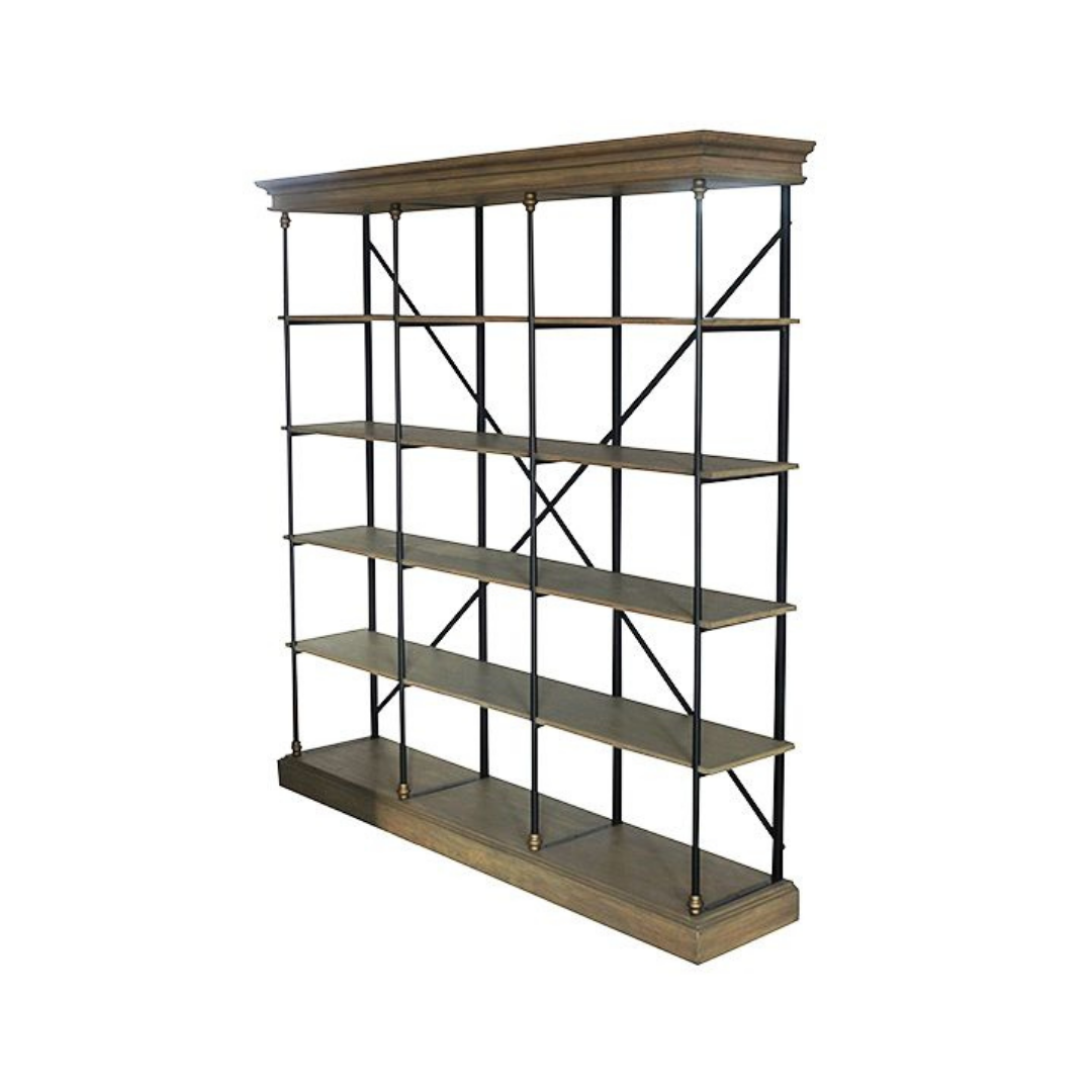 PALLAIS OPEN DOUBLE SHELF