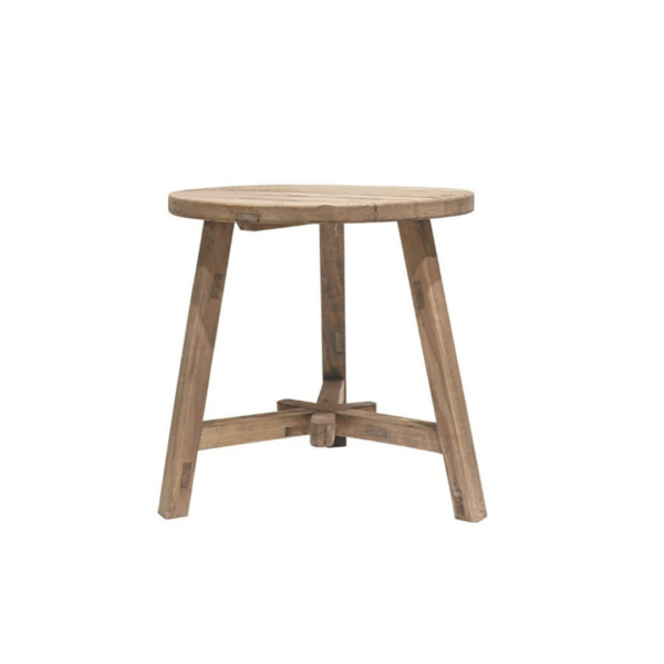 PARQ ROUND TALL END TABLE