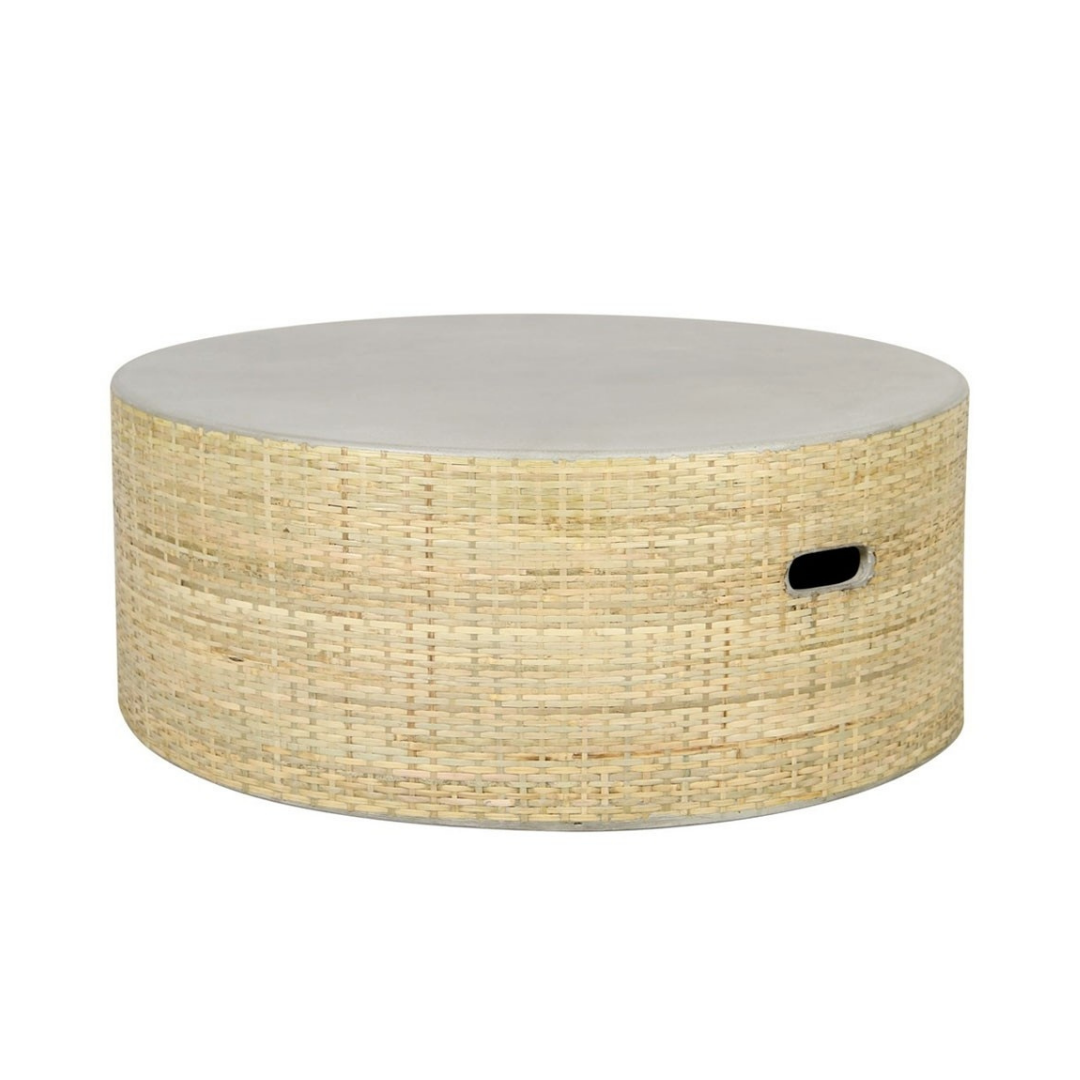 THATCH COFFEE TABLE