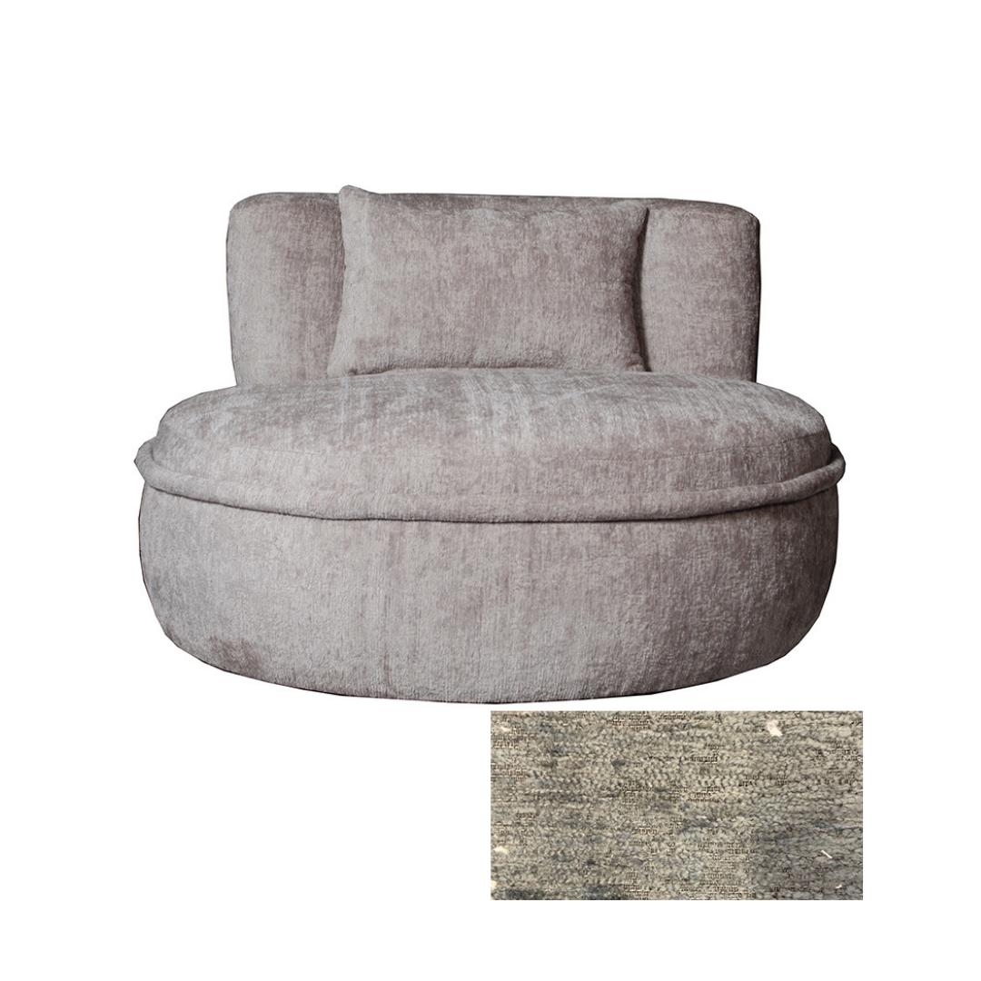 Tuba Swivel Chair
