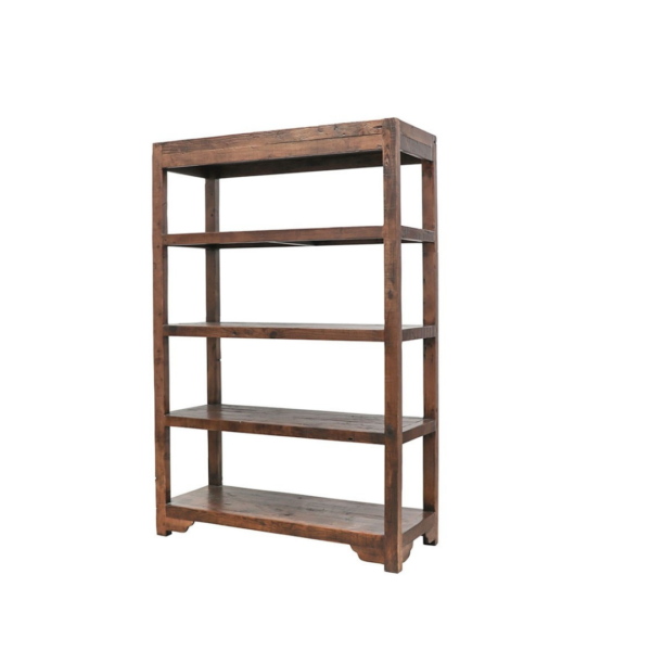 WOODEN BAKERS RACK - MID