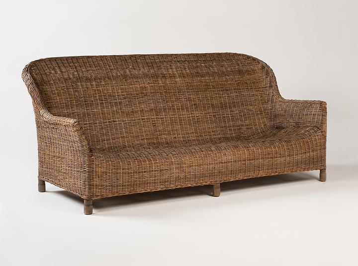 Gable sofa - Rattan
