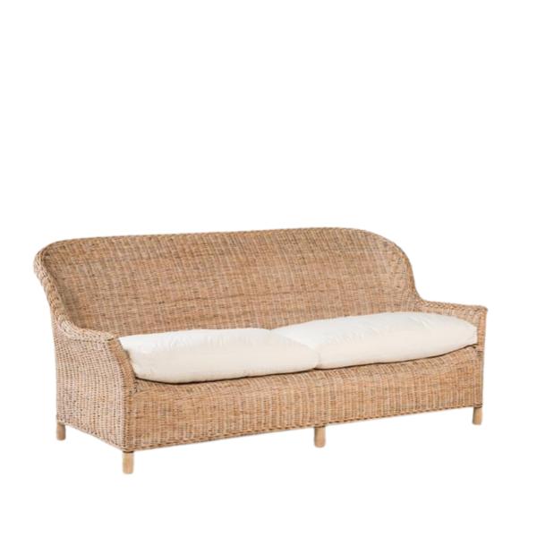 Rattan Gable Sofa