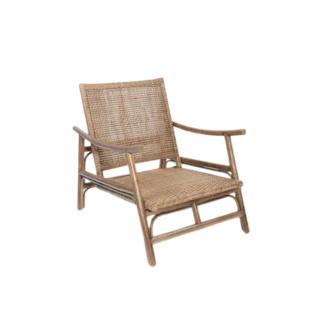 Rattan Slane lounge chair