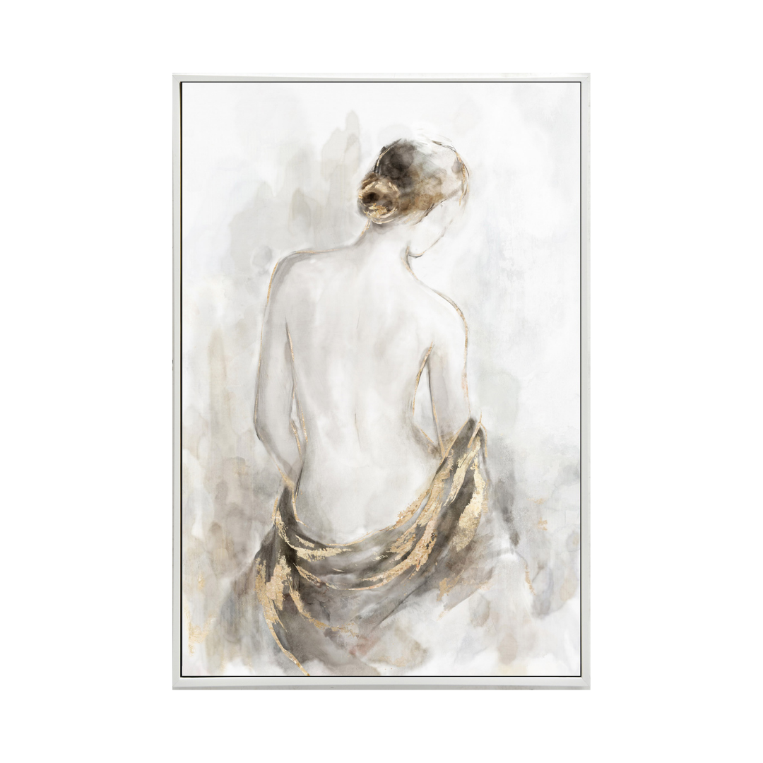SERENITY PRINT WITH HAND PAINTING