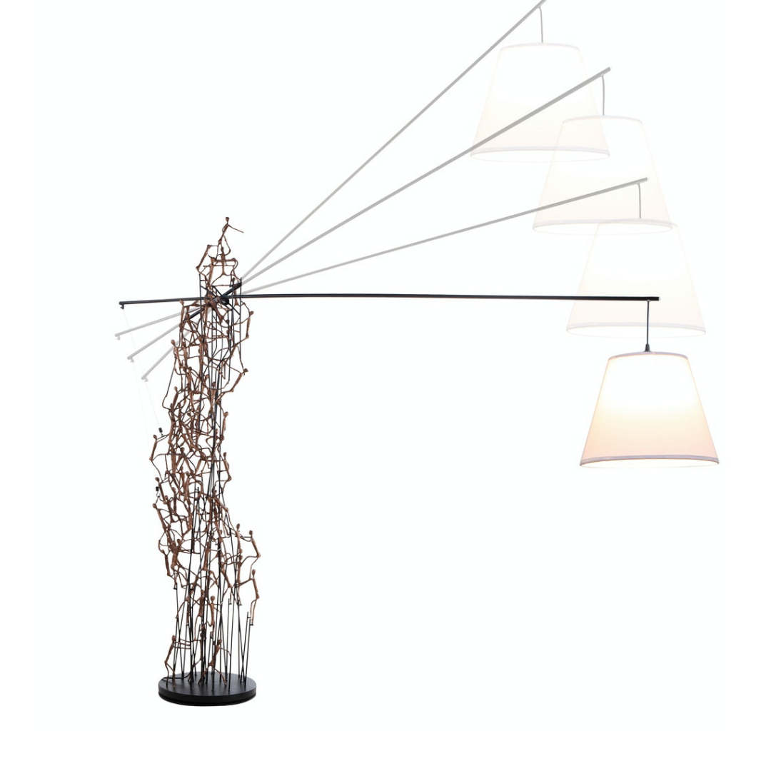COBONPUE Little Peoples Floor Lamp